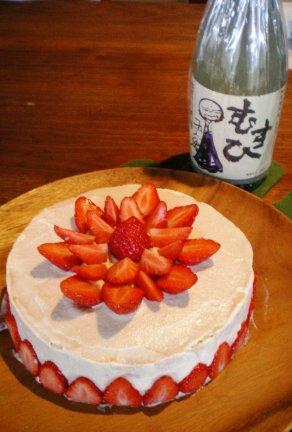 ベジモBDケーキ.JPG